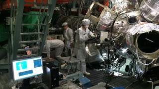 宇宙地球科学 レーザー実験