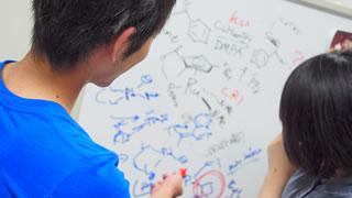 高分子科学 ディスカッション風景